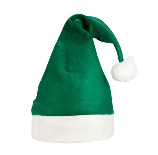 Kerstmuts Groen-Wit