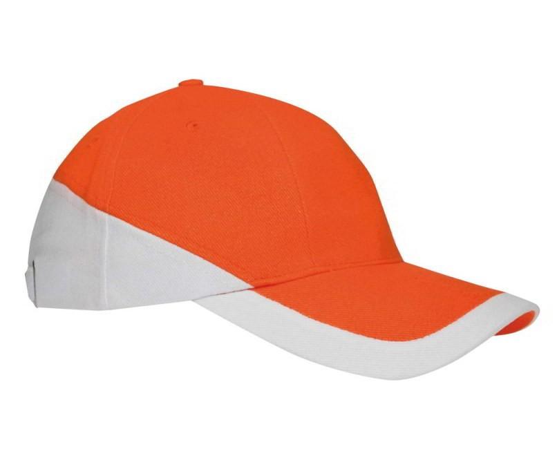 Oranje Cap 2 kleuren
