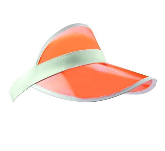 Oranje Retro Zonneklep