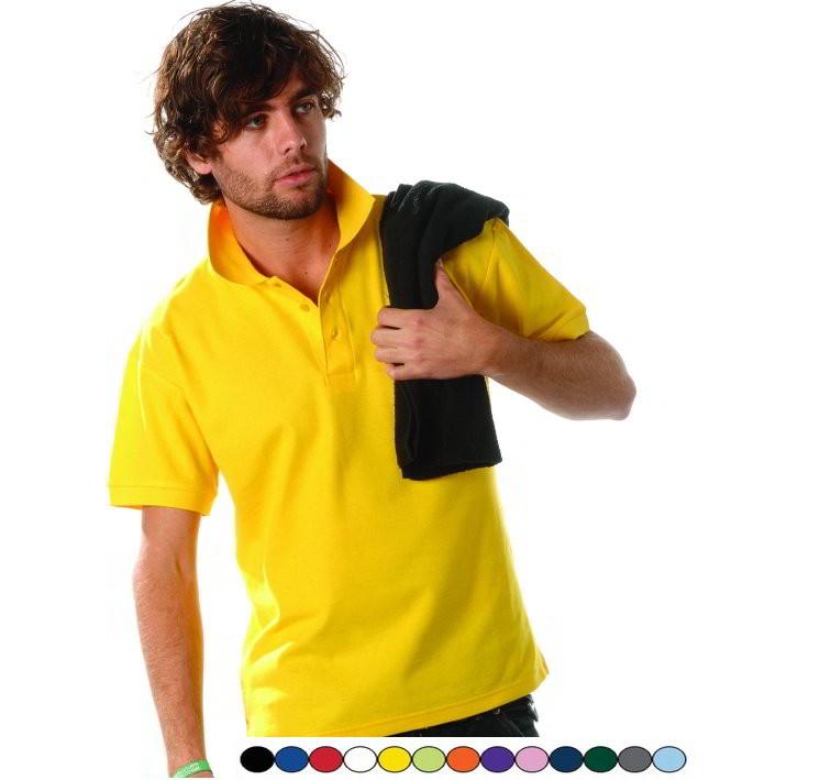 Heren Polo shirt Gratis borduren