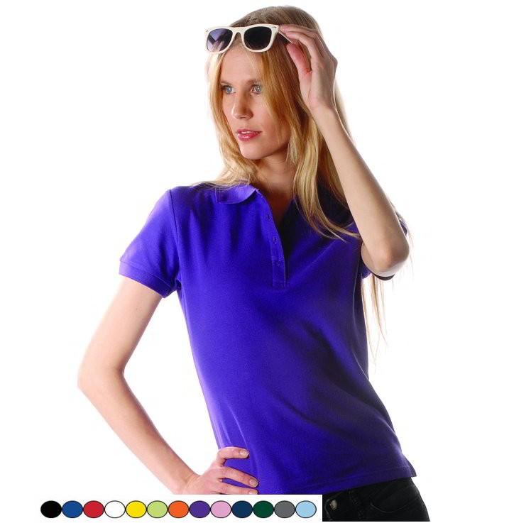 Dames Polo shirt Gratis borduren