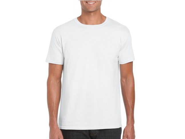 T-shirt SoftStyle Unisex Wit