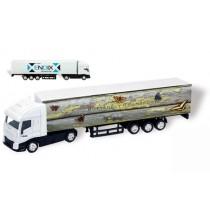 Vrachtwagen op schaal