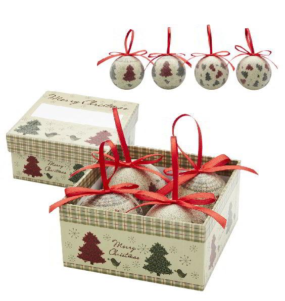 Kerstballen Geschenkset