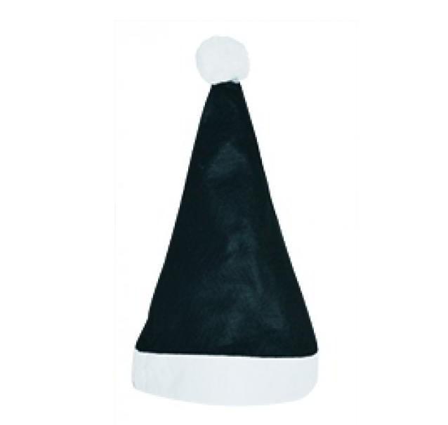 Kerstmuts Zwart-Wit
