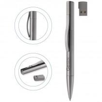 USB Balpen Metaal 4Gb