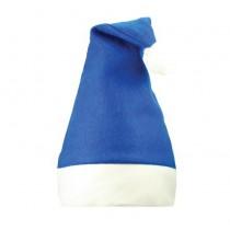 Kerstmuts Blauw-Wit