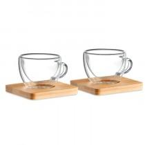 Espresso Glazen set.
