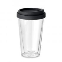 Dubbelwandig Glas met Deksel