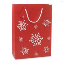 Geschenktas Kerst Papier Maat L