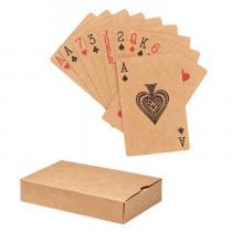 Speelkaarten gerecycled papier