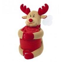 Fleece deken Kerstknuffel