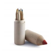 Kleurpotloden in potlood