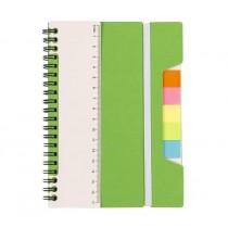 Notitieboek met Liniaal