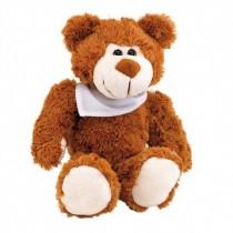 Pluche Teddybeer met sjaal
